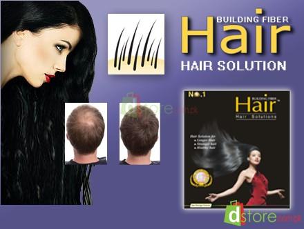 hair building fiber