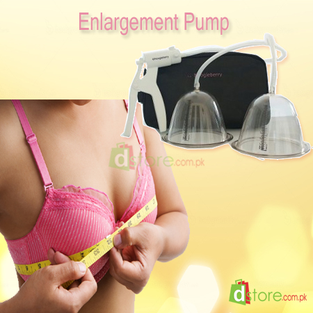 Vacuum boob enhancement